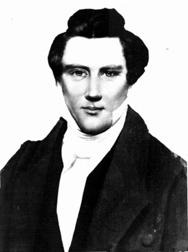 Joseph Smith, jr., ca. 1843, por Lucien Foster.