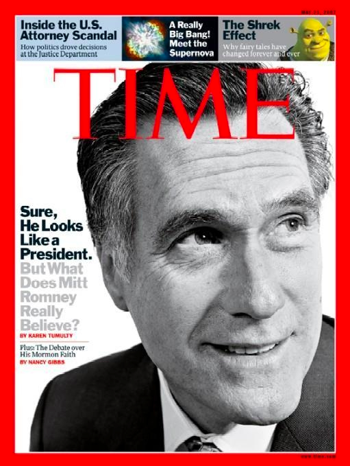 A Revista TIME levanta a questão da sinceridade e honestidade: No que realmente crê Mitt Romney?