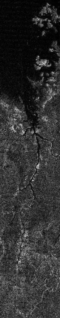 Rio de 400 km descoberto em Titã, lua de Saturno