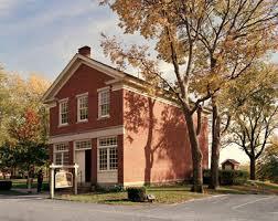 """""""Casa de Tijolod Vermelhos"""", onde foi organizada a Sociedade de Socorro e administrada a investidura."""