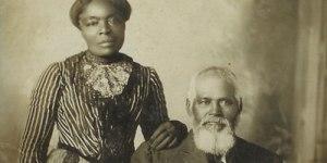 Amanda e Samuel Chambers, conversos mórmons, chegaram a Salt Lake City em 1870.