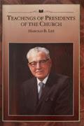 Ensinamentos dos Presidentes da Igreja: Harold B. Lee