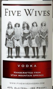 vodka rotulo