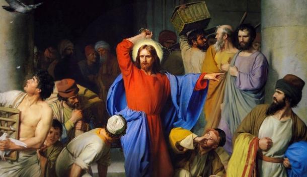 Jesus Expulsa Cambistas