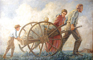 Pintura de Cloy Kent.