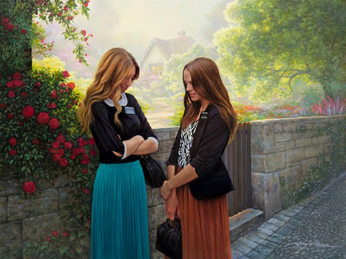 Seeking-the-Spirit Greg Olsen