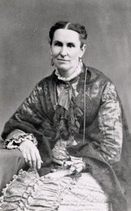 Helen Mar Kimball (1828–1896), desposada por Joseph Smith aos 14 anos.