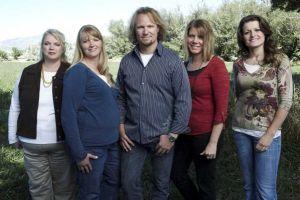 Janelle, Christine, Kody, Meri e Robyn Brown. (Imagem: TLC)
