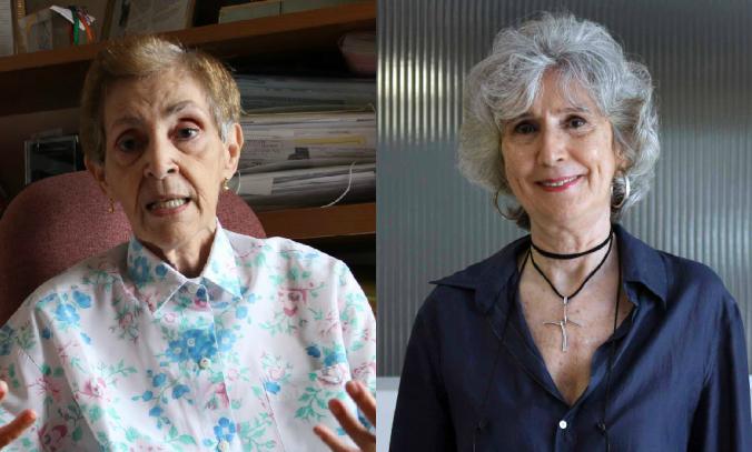 Nádia Amorim (esq.) e Fátima Quintas. (Imagens: Agência Alagoas, Unicap.)