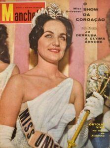 A Miss Universo mórmon na capa da revista Manchete, em 1960.