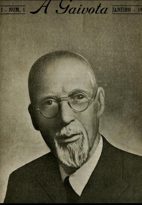 Capa da primeira edição de A Gaivota, com foto de George Albert Smith, então Presidente da igreja.