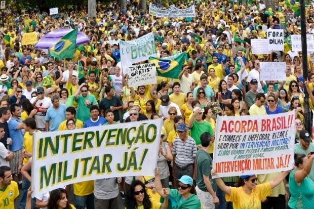 Manifestação Fora Dilma