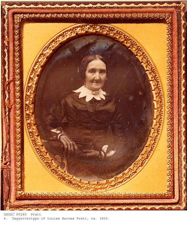 Louisa Barnes Pratt ca 1855