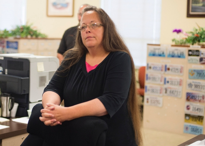 Kim Davis (Ty Wright/Getty Images)