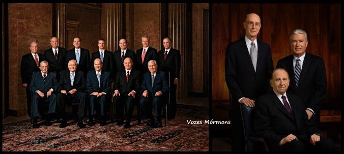 Os 'Quinze' em 2013: A Primeira Presidência e o Quórum dos Doze Apóstolos