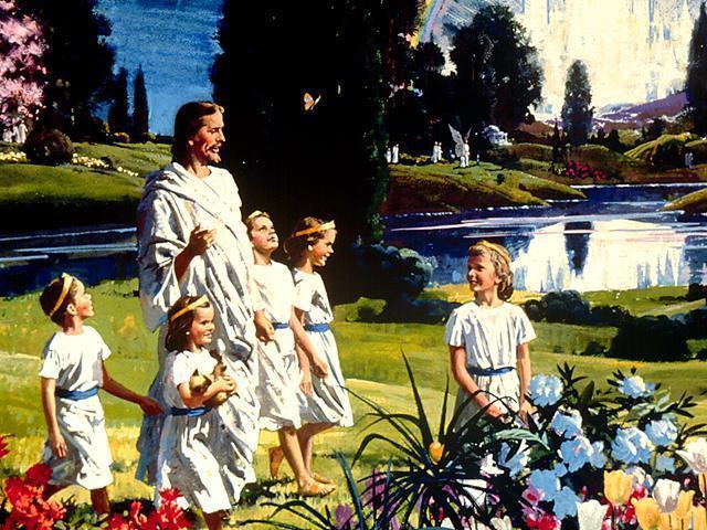 Nem todos os Mórmons creem que Jesus chama para si as criancinhas