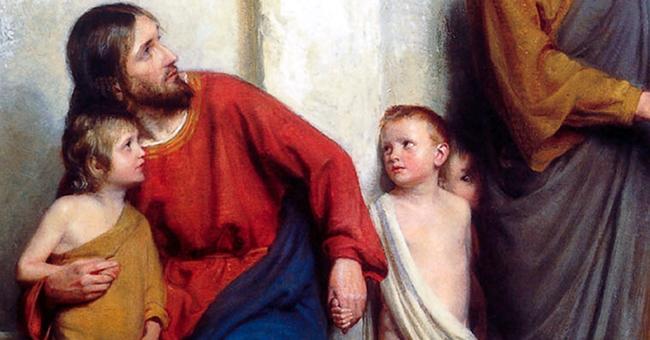 Jesus Cristo. Crianças. Mórmons. Mormonismo.