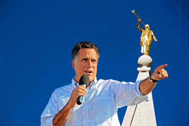 Mórmon Mitt Romney foi o candidato à presidência dos EUA em 2012 pelo Partido Republicano