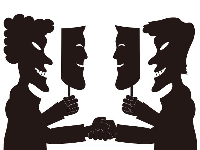 Hipocrisia Máscaras