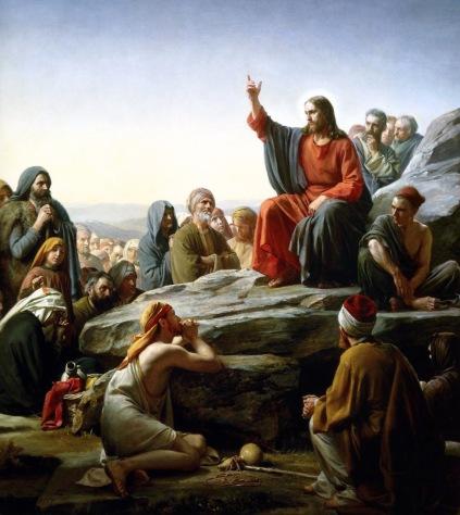 O Sermão da Montanha por Carl Bloch (1890)