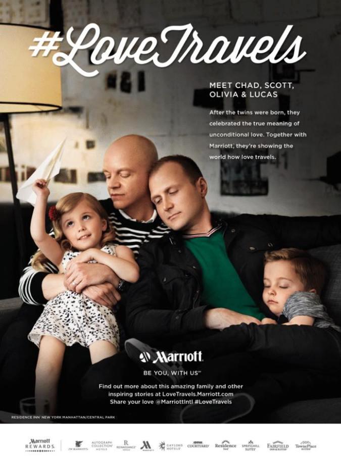 Conheça Chad, Scott, Olivia e Lucas: Depois que os gêmeos nasceram, eles celebraram o real significado de amor incondicional. Juntos com a Marriott, eles demonstram ao mundo como o amor viaja.