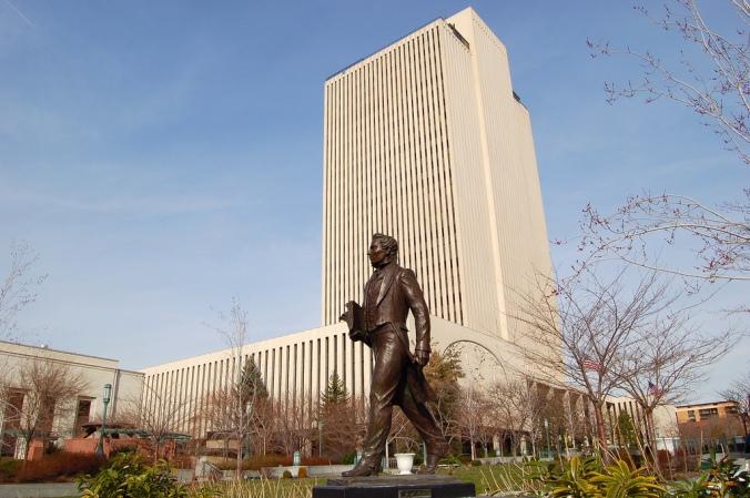 Prédio dos Escritórios da Igreja, em Salt Lake City, Utah.