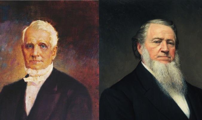 Brigham Young vs. John Taylor