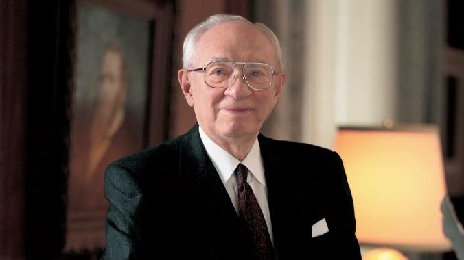 Gordon B. Hinckley, 15o Presidente d'A Igreja de Jesus Cristo dos Santos dos Últimos Dias (1995-2008)
