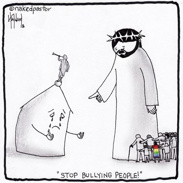 """'PARE DE FAZER BULLYING COM AS PESSOAS', """"Mormon Church & Bullying"""" por David Hayward"""