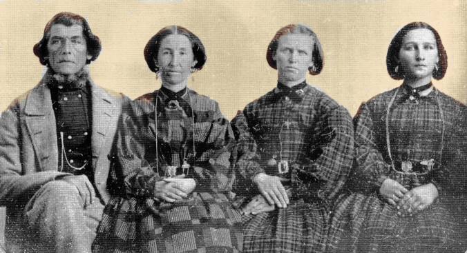 poligamia mórmon fotografia
