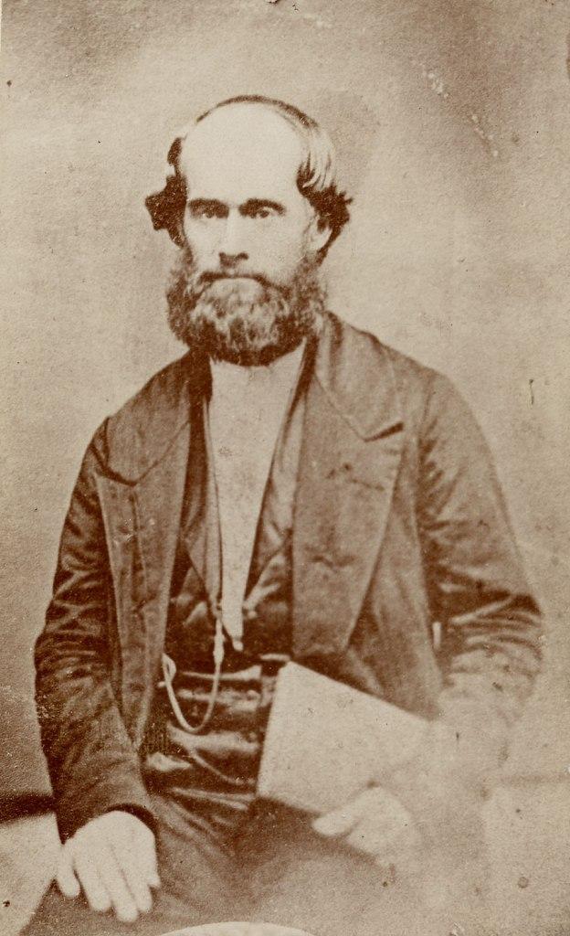 James Jesse Strang (Foto por J. Atkyn, 1856, em Church History Library, Salt Lake City)