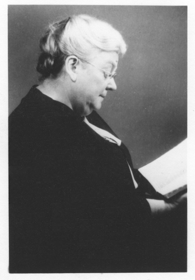 Pauline Hancock, 1959.