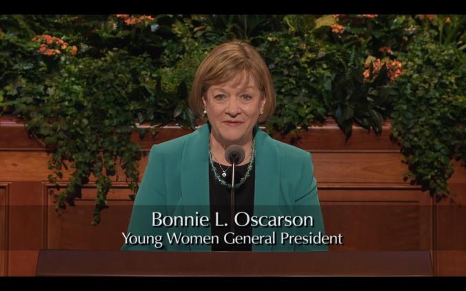 Bonnie Oscarson, Presidente Geral da Organização das Moças
