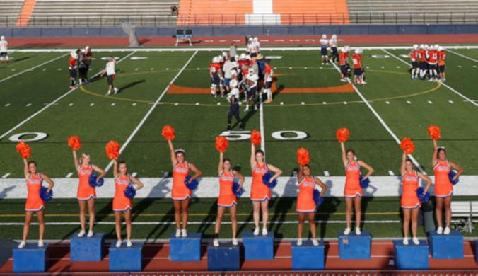 Cheerleaders Timpview High School