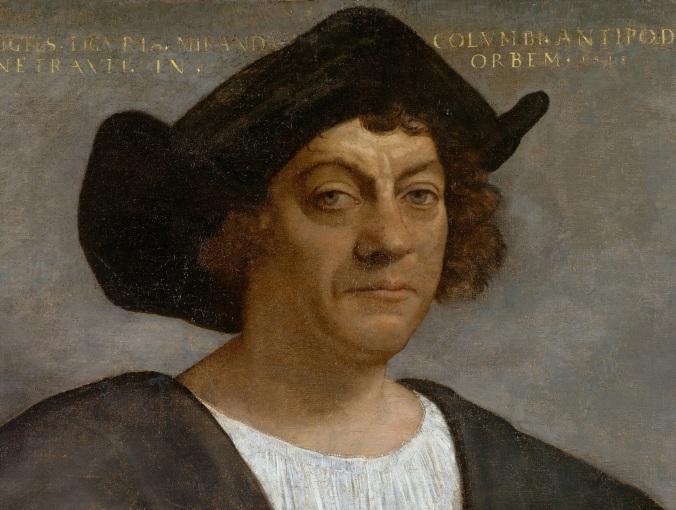 Retrato de Homem, supostamente Cristóvão Colombo, por Sebastiano del Piombo (1485–1547)