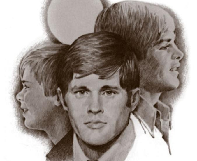 """Arte da capa do panfleto """"Somente para os Rapazes"""", por Boyd K. Packer"""