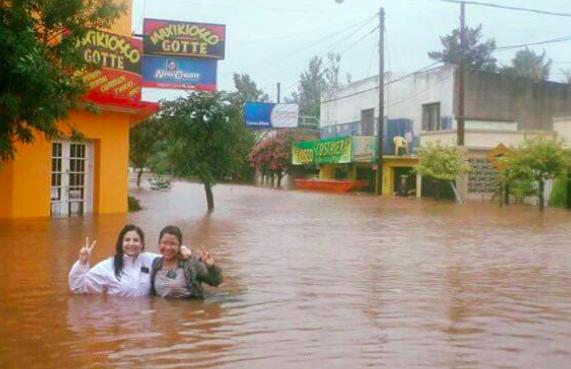 Missionárias da Igreja SUD no Brasil viram meme machista após foto bem-humorada durante tragédia ecológica