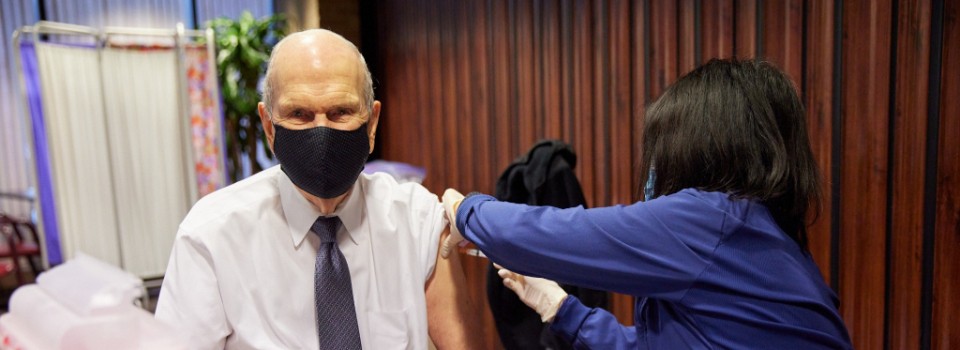 Russel Nelson profeta vacina Covid-19